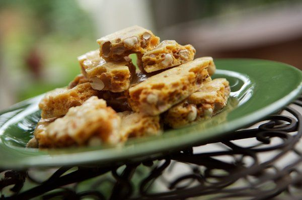 Peanut Brittle Our melt in your mouth Peanut Brittle is sure to become a favorite treat.  Made with...