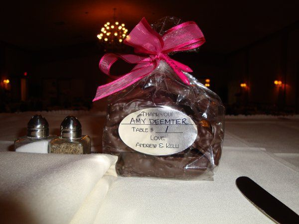Wedding Favors You can choose either the Regular Peanut Brittle or the Chocolate Covered Peanut...