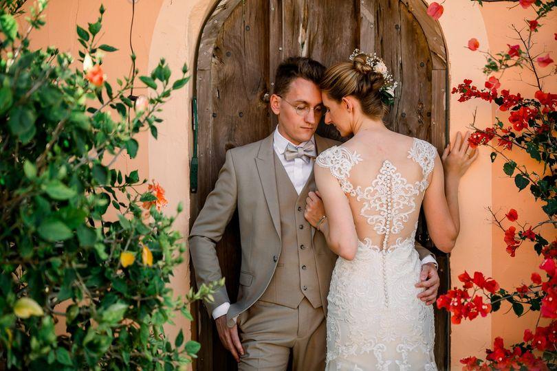 Max & Sohpia Backyard Wedding