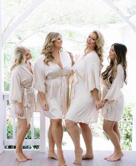 Bridal party - jenny quicksall