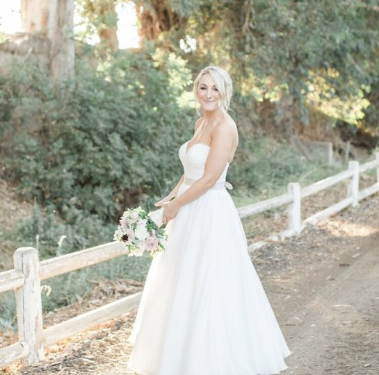 Wedding beauty - rebecca theresa