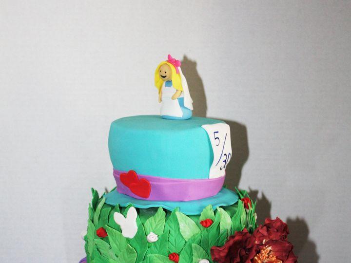 Tmx 1456187103704 Img3262a Brooklyn wedding cake