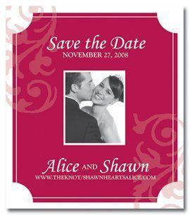 Tmx 1256853263618 Savethedate3 Foxboro wedding invitation