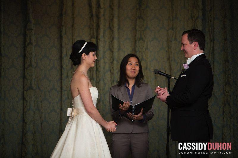 Melissa & Ben The Fairfax at Embassy Row Washington, DC  Photo courtesy of Cassidy DuHon Wedding...