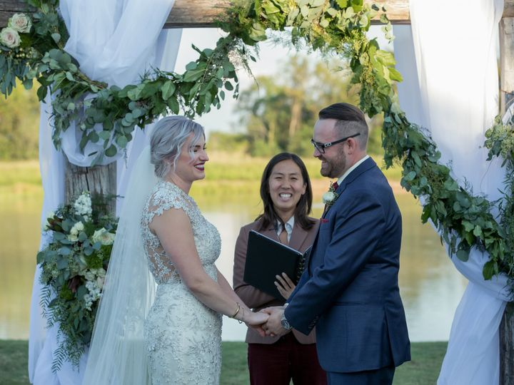 Tmx 1536089686 E477112504117af2 1536089683 8e422e031e756abf 1536089682745 3 Leah And Gerald 3  Houston, TX wedding officiant