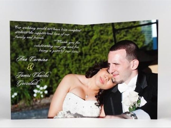 Tmx 1357528531787 ThankYouCard New York wedding invitation
