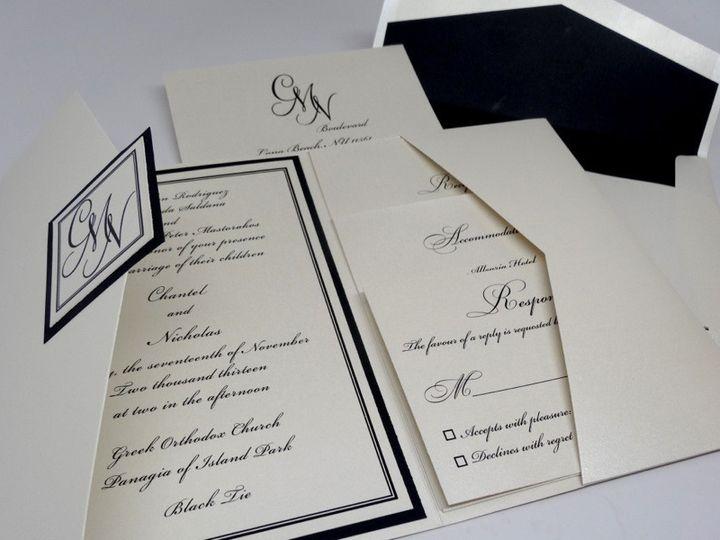 Tmx 1374590570066 Dsc00646 Copy New York wedding invitation