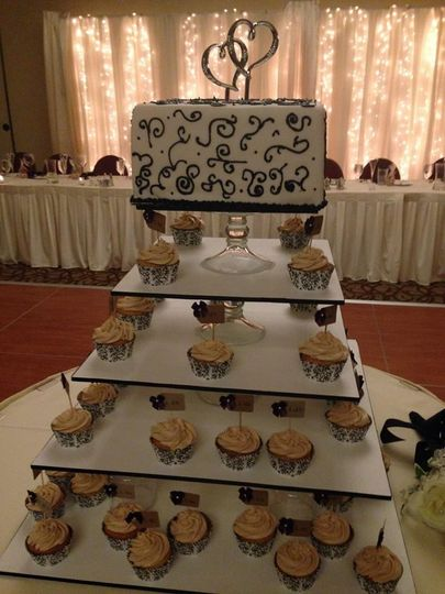 Cup cakes station