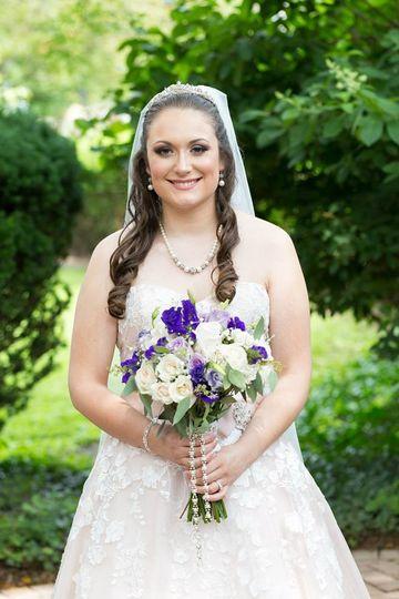 Classic Bridal Look