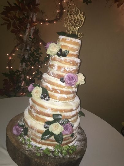 Multilayered cake