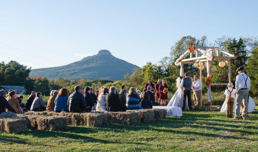 Wedding ceremony | Huskey AMA Photography