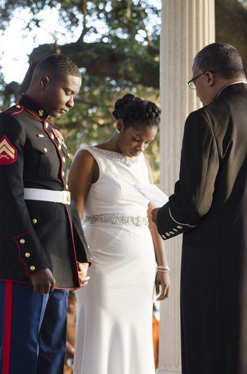 Wedding vows | Huskey AMA Photography