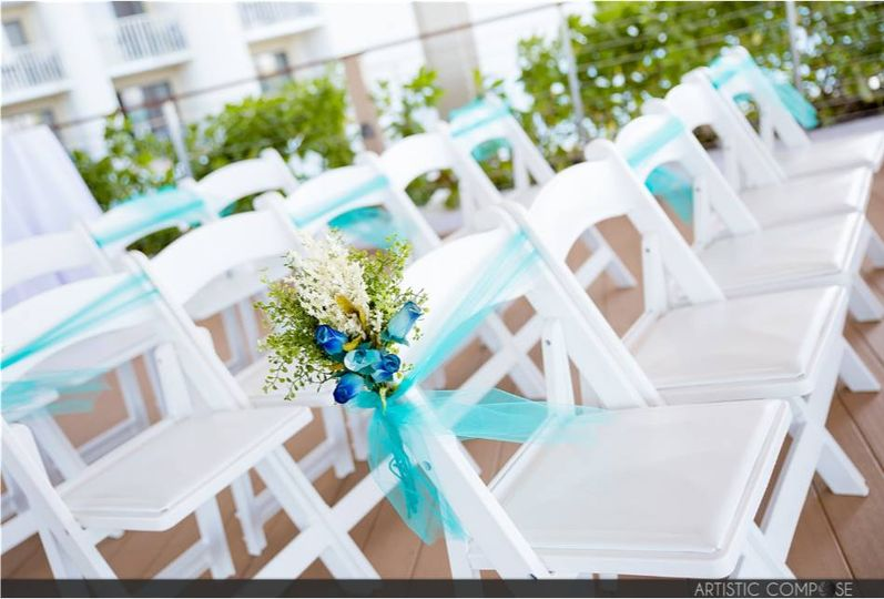 The ceremony seating