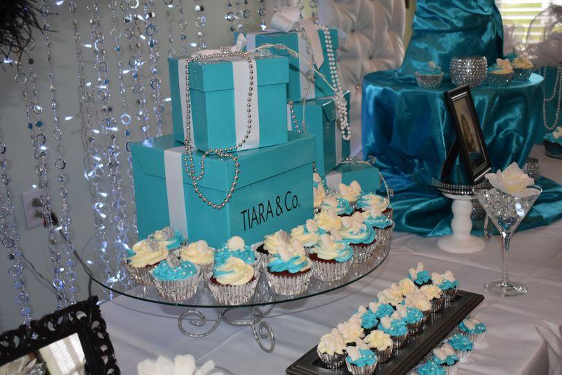 Bridal Shower desert table