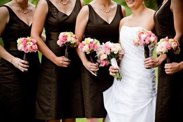Tmx 1272090036569 Brideandbridesmaidsalllinedup Portland wedding florist