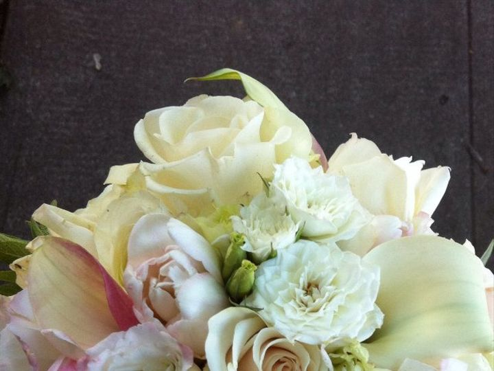Tmx 1362612065306 Whiteandsoftpink Portland wedding florist
