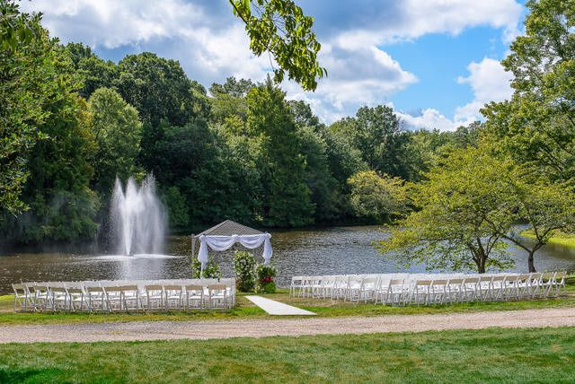 Scenic location for outdoor ceremony.