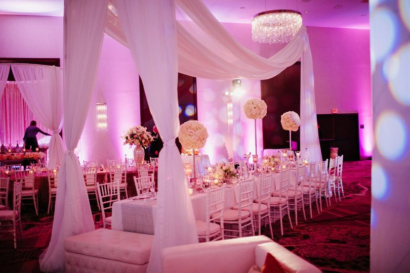 Event decor linen and draping