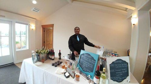 Wedding Bar Setup