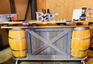 Indoors Bar Setup