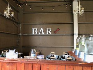 Barn Bar Setup