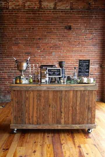 Espresso bar at reception