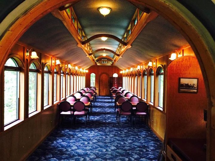 Historic Railroad dining car