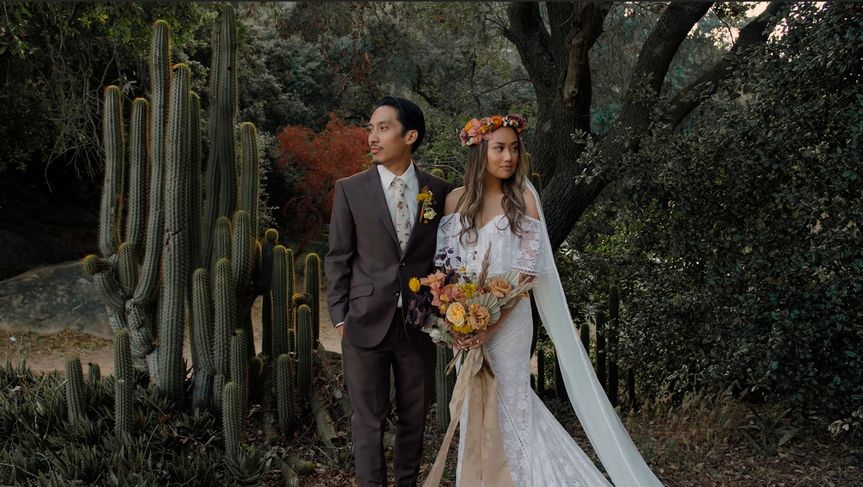 The Wedding of Rex and Carmen