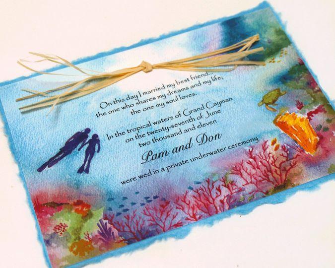 lovers reef invitation