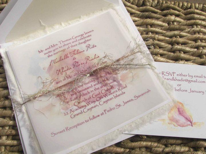 Tmx 1454692140357 Screen Shot 2016 02 05 At 8.46.21 Am Fallbrook wedding invitation