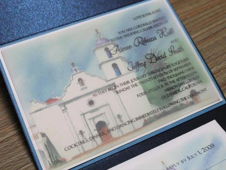Tmx 1454693884416 Photo 5 Fallbrook wedding invitation