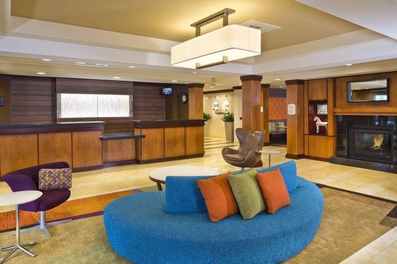 lobby reception area