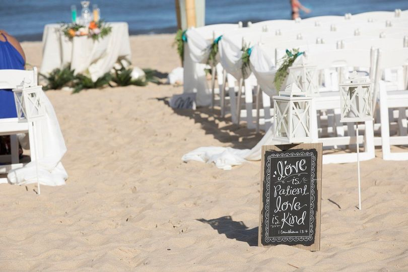 Beachfront ceremonies