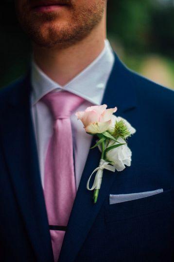 Boutonniere Paris Wedding