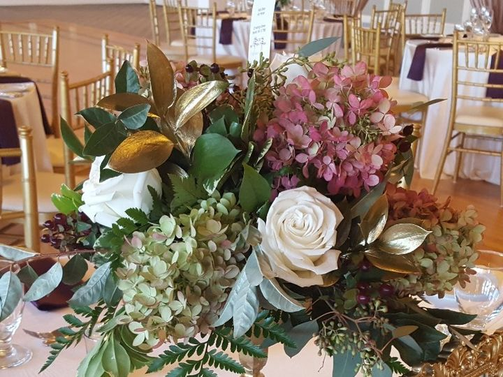 Tmx Fall Hydrangeas Burgundy Gold Pedestal Grandv 51 533607 160009116462488 Mendon wedding florist