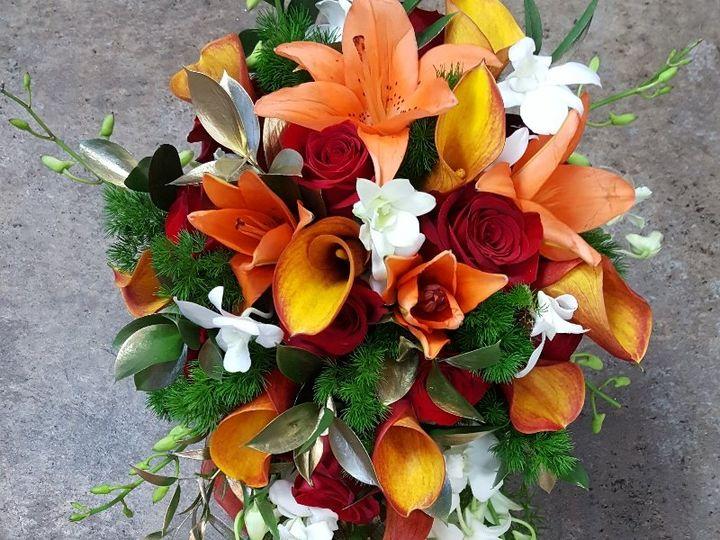Tmx Orange Lily Cascade 51 533607 160009119864891 Mendon wedding florist