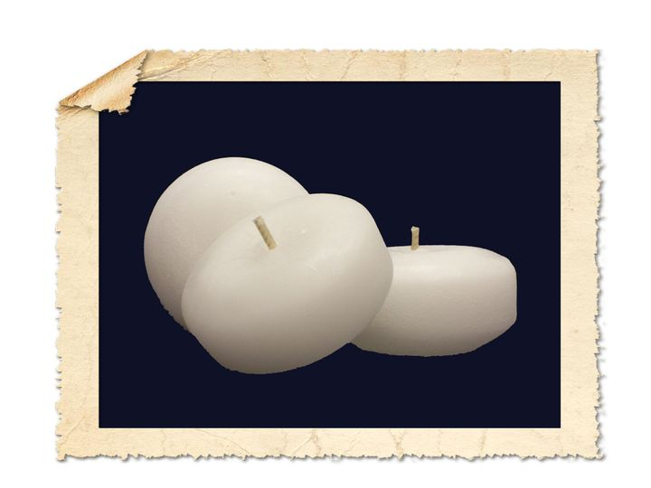 "2"" Floating Candles."