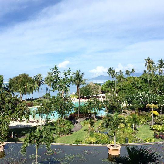 Sun holiday in Tahiti