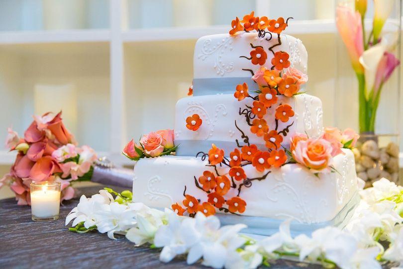 Freeport Bahamas Wedding Cake