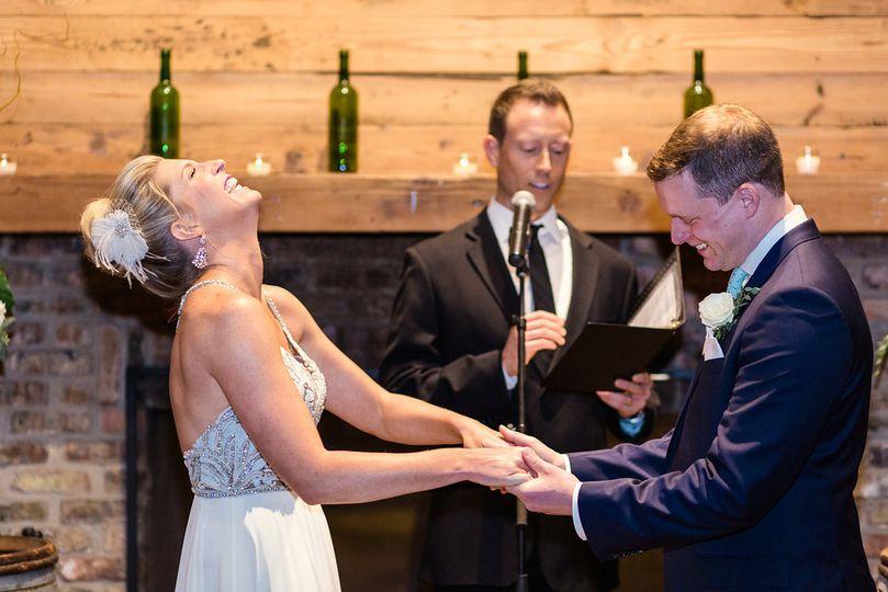 City Winery Wedding Ceremony