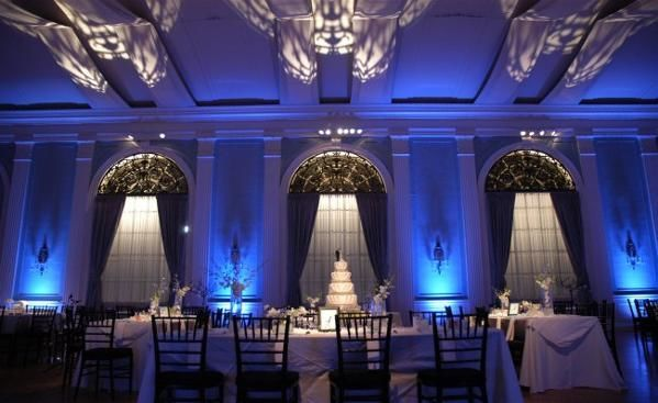 High ceilings for reception