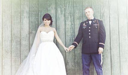 The wedding of Brandon and Meg