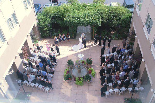 Tmx 1290557426003 Viewofweddingfromabove2 Fairfax, VA wedding venue