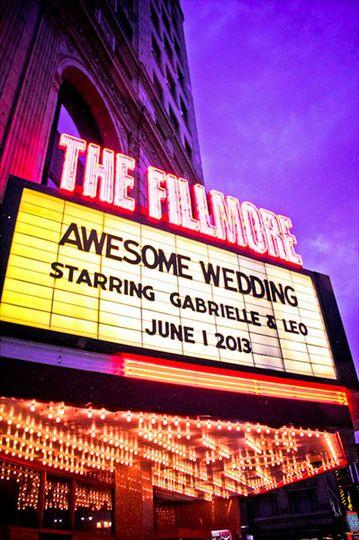 fillmore wedding outside