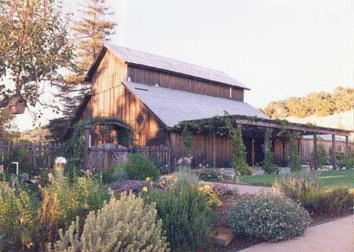 Beautiful views of gardens, vineyards and rolling hillsides in every direction. The barn is the...