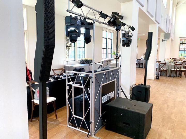 DJ arrangement