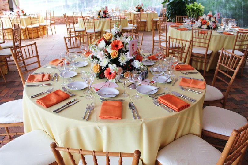 tables @ reception