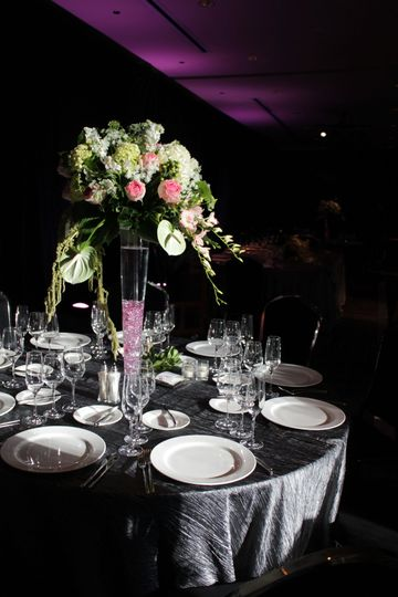 guest reception table
