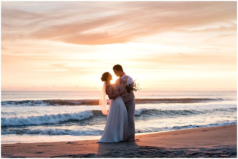 Sunrise Cocoa Beach Wedding