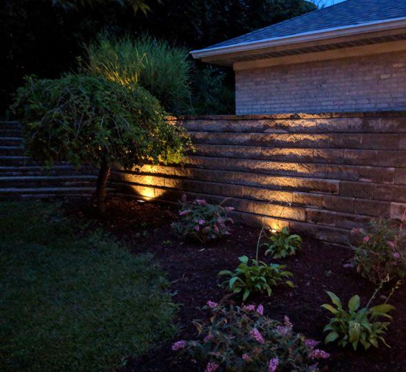 Night landscaping